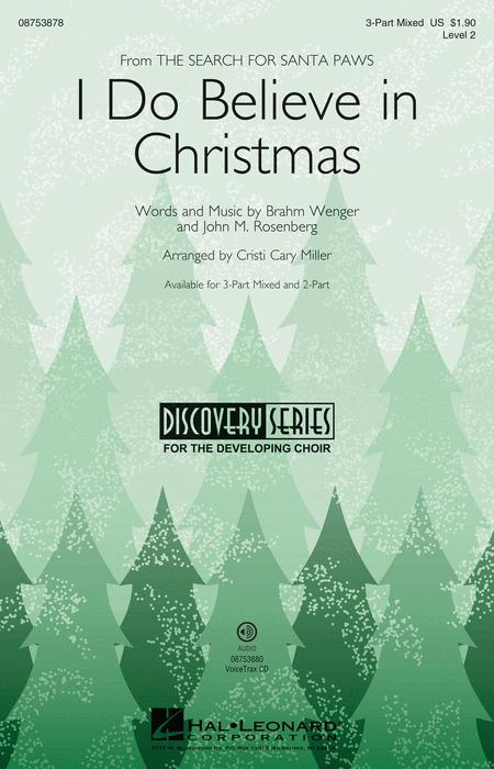 I Believe In Christmas.I Do Believe In Christmas Sheet Music By Brahm Wenger