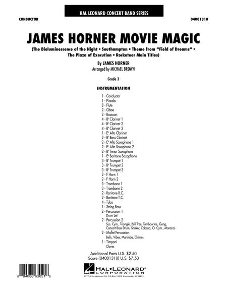 James Horner Movie Magic - Full Score