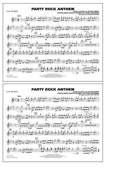 Party Rock Anthem - 1st Bb Trumpet