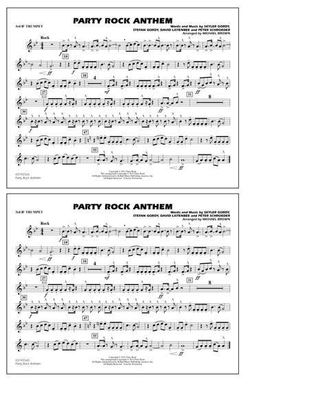 Party Rock Anthem - 3rd Bb Trumpet