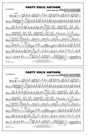 Party Rock Anthem - 1st Trombone
