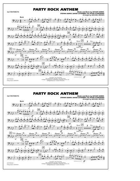 Party Rock Anthem - 2nd Trombone