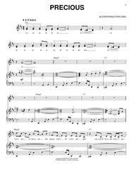 Download Precious Sheet Music By Esperanza Spalding Sheet