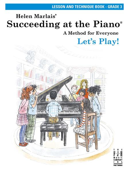 Succeeding at the Piano Lesson and Technique Book - Grade 3 (without CD)