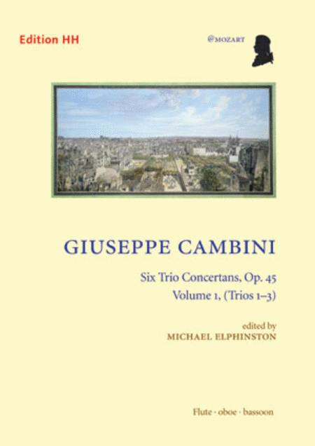 Six Trio Concertans, volume 1