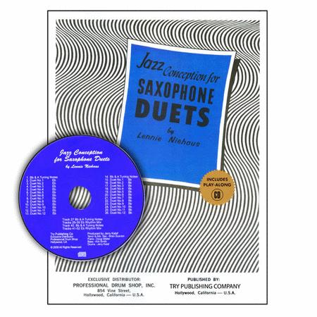 Jazz Conception For Saxophone Duets with CD