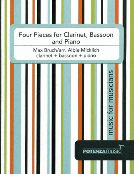 Four Pieces for Clarinet, Bassoon and Piano