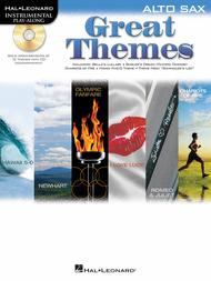 Great Themes (Instrumental Play-Along for Alto Sax)