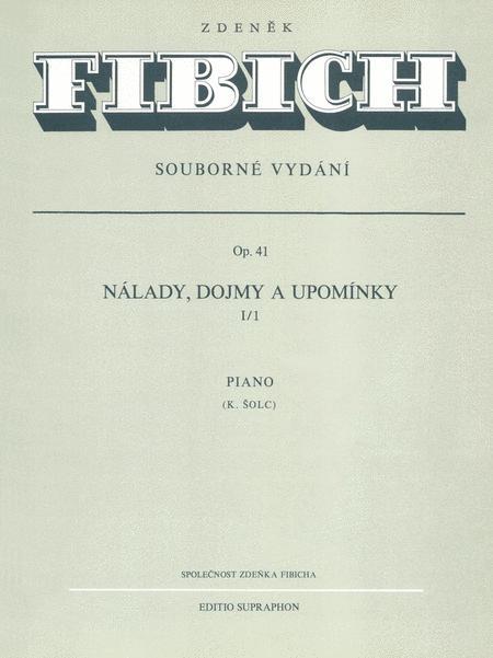 Stimmungen, Eindrucke und Erinnerungen, Op. 41/I