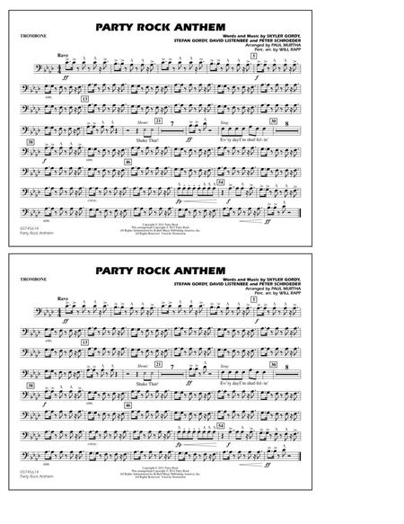 Party Rock Anthem - Trombone