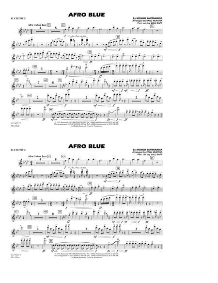 Afro Blue - Flute/Piccolo