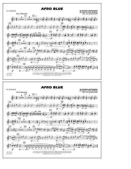 afro blue lead sheet