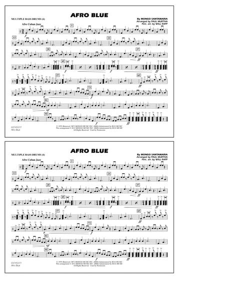 Afro Blue - Multiple Bass Drums