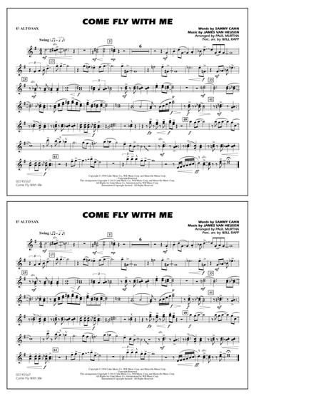 Come Fly With Me - Eb Alto Sax