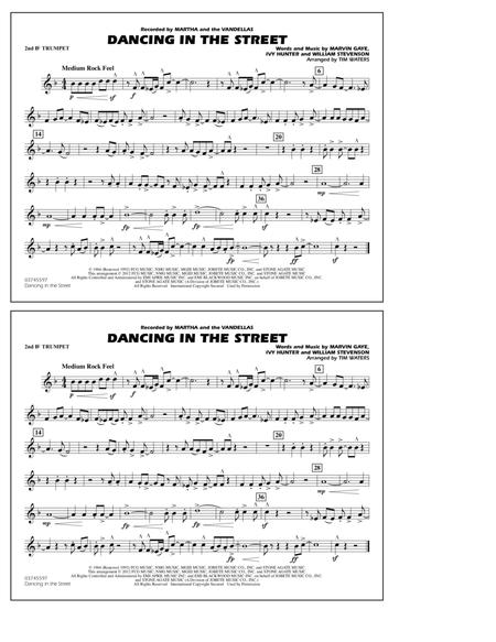 Dancing In The Street - 2nd Bb Trumpet
