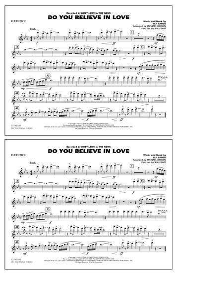 Do You Believe In Love - Flute/Piccolo