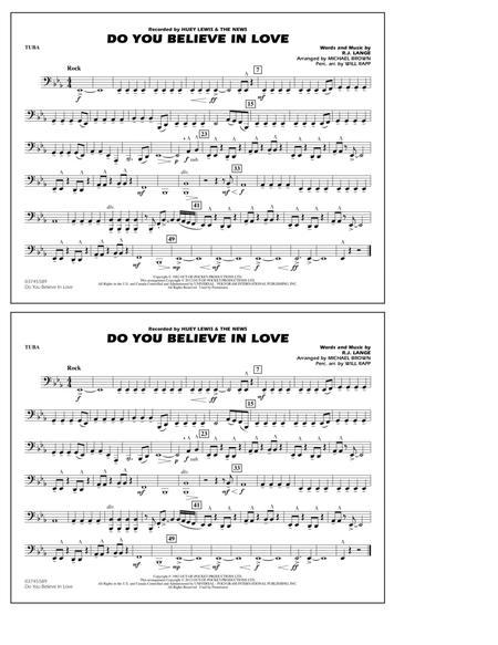 Do You Believe In Love - Tuba