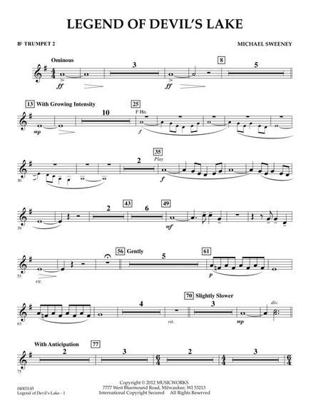 Legend Of Devil's Lake - Bb Trumpet 2