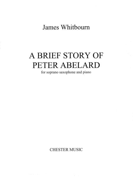 A Brief Story of Peter Abelard
