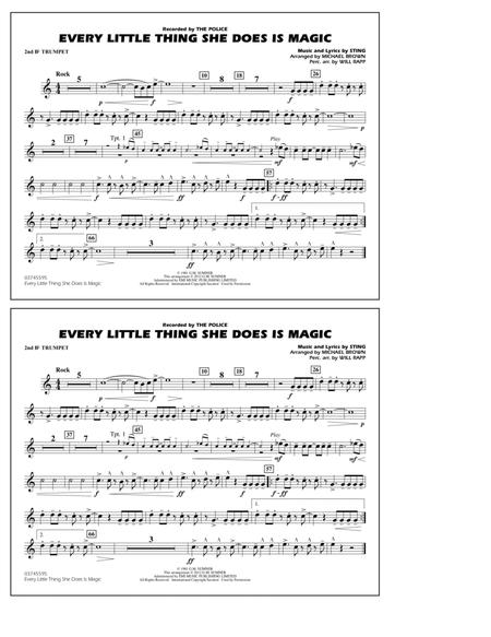 Every Little Thing She Does Is Magic - 2nd Bb Trumpet