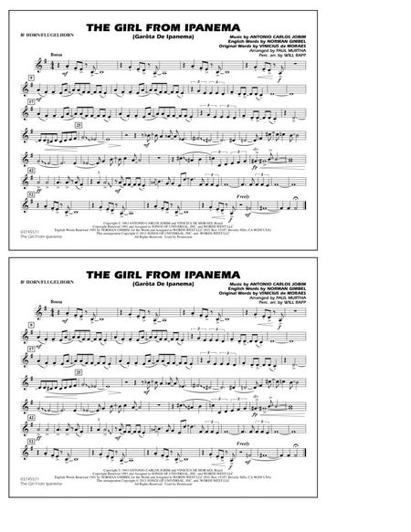 The Girl From Ipanema (Garota De Ipanema) - Bb Horn/Flugelhorn