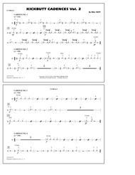 Kickbutt Cadences Vol. 2 - Cymbals