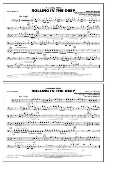 Rolling In The Deep - 2nd Trombone