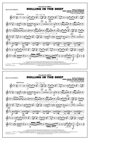 Download Rolling In The Deep Bellsxylophone Sheet Music By Adele
