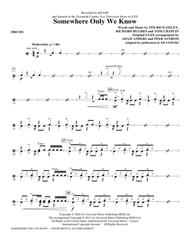 "Keane ""somewhere only we know"" sheet music in a major."