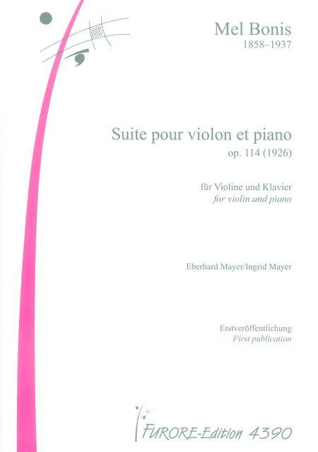 Suite pour violon et piano op. 114 (1926)
