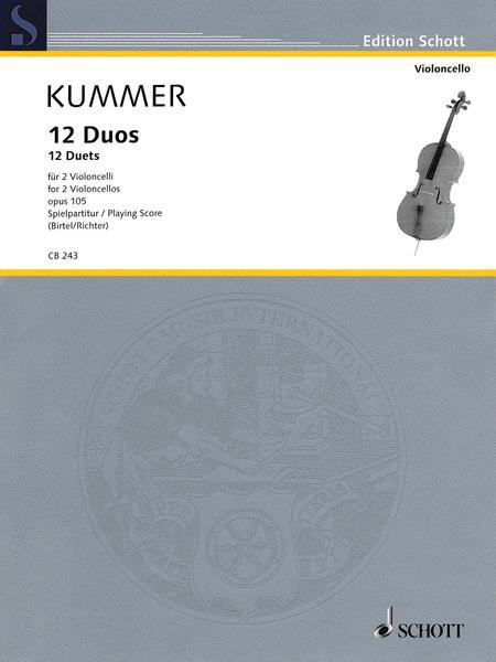 12 Duets Op. 105