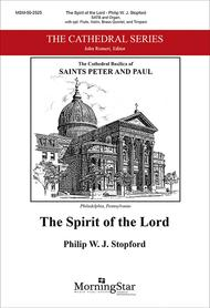 The Spirit of the Lord (Choral Score)