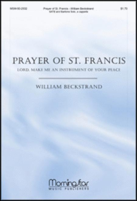 Prayer of St. Francis: Lord, Make Me an Instrument of Your Peace