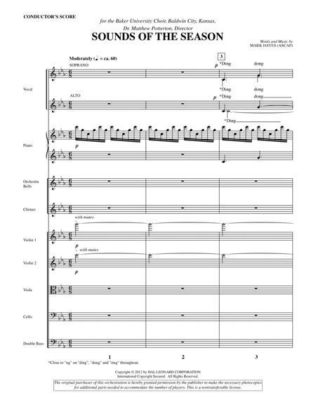 Sounds Of The Season - Score
