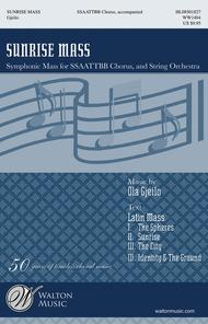 Sunrise Mass (Full Score and Instrumental Parts)