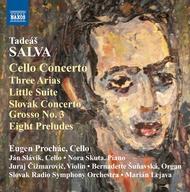 Cello Concertos Three Arias