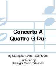 Concerto A Quattro G-Dur