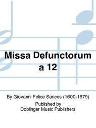 Missa Defunctorum a 12