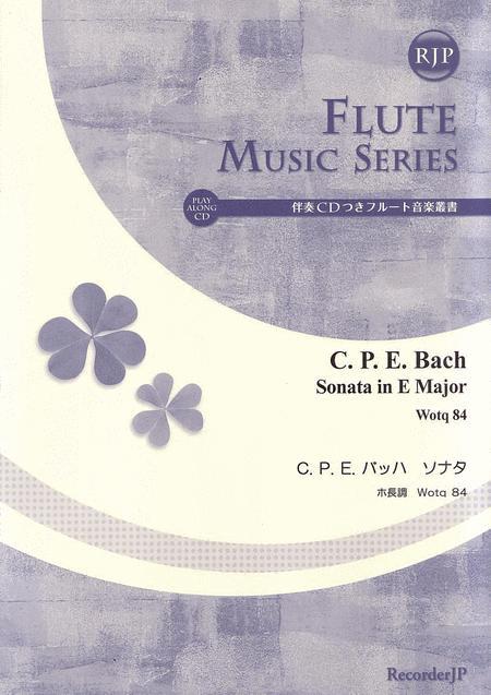Flute Sonata in E Major Wotq 84