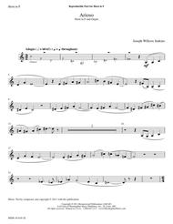 Six Pieces for Organ, Volume 1 - Arioso - Horn in F Part