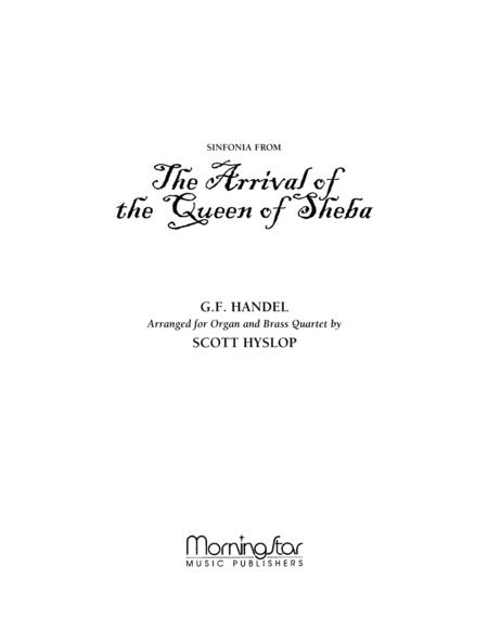 Sinfonia from The Arrival of the Queen of Sheba