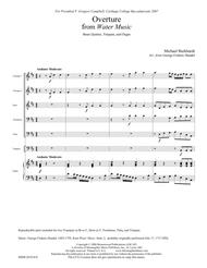 Overture From Water Music, Suite 2