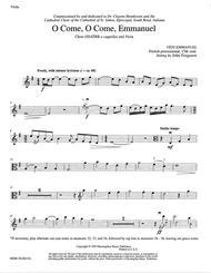 O Come, O Come, Emmanuel (Viola Part)