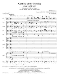 Canticle of the Turning (Full Score)