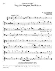 Sing the Songs of Bethlehem (Flute and Oboe Parts)