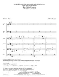 The Gift of Angels (Full Score)