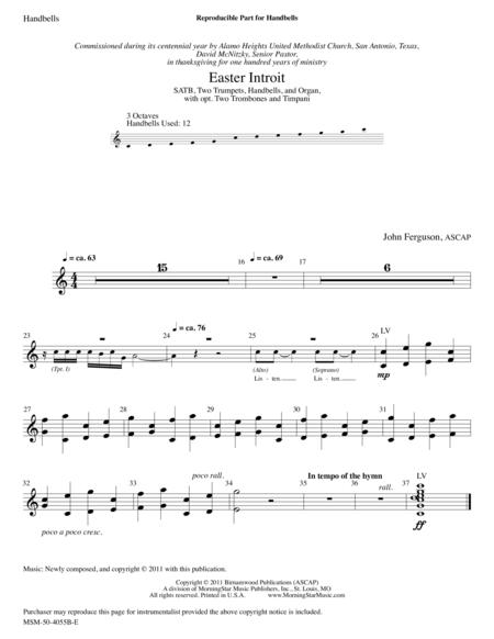 Easter Introit (Instrumental Parts)
