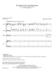 The Strife Is O'er, the Battle Done (Full Score)