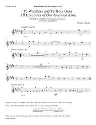Ye Watchers and Ye Holy Ones All Creatures of Our God and King (Instrumental Parts)