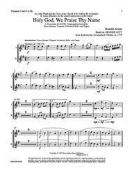 Holy God, We Praise Thy Name (Instrumental Parts)